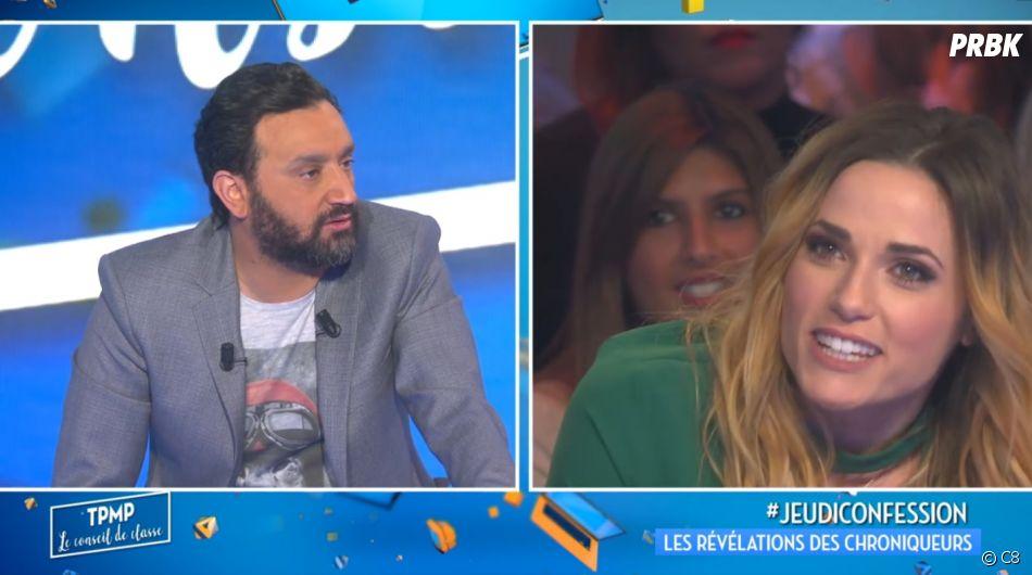 """Capucine Anav fait des révélations dans TPMP : """"J'étais folle amoureuse de Matthieu Delormeau"""" !"""