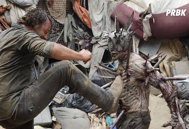 The Walking Dead : un zombie badass façon Mad Max débarque dans la série