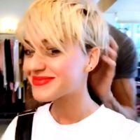 Katy Perry dévoile sa coupe courte à la Miley Cyrus en photos et vidéo 💇