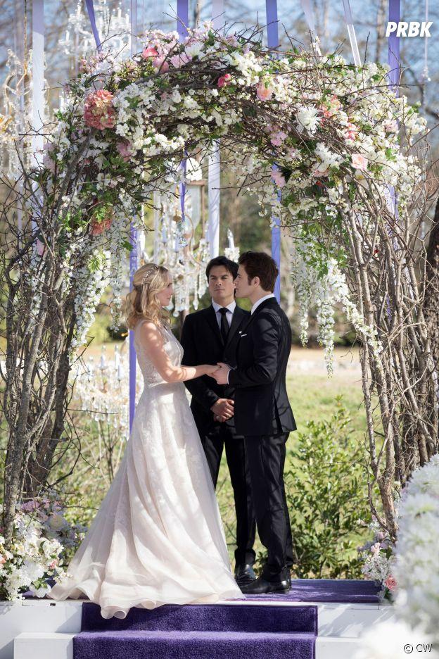 The Vampire Diaries saison 8 : Stefan et Caroline se marient dans l'épisode 15