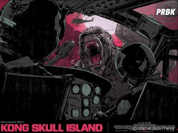 Des affiches d'artistes pour Kong : Skull Island.