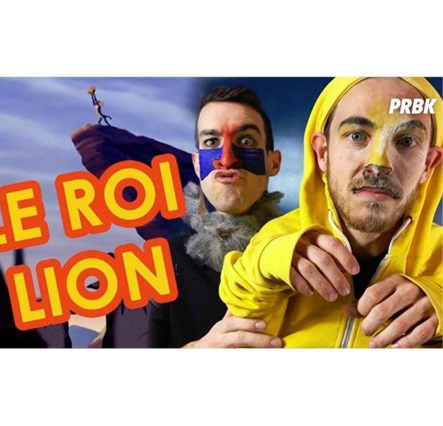 Max Bird et Alex Ramirès parodient Le Roi Lion et c'est complètement fou