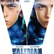 Valérian : Dane DeHaan et Cara Delevingne se dévoilent sur une nouvelle affiche