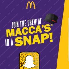 McDonald's recrute ses employés... sur Snapchat 👻