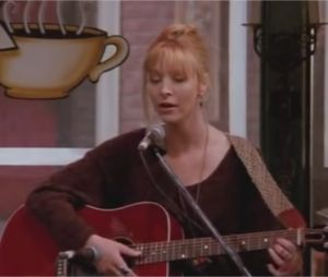 Phoebe chante Smelly Cat dans Friends