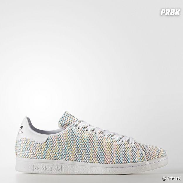 Stan Smith en mesh multicolore