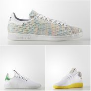 Stan Smith multicolore, Tennis HU par Pharrell Williams... Avec Adidas l'été sera coloré