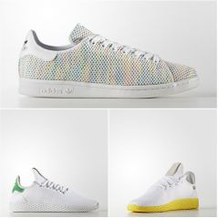 Stan Smith multicolore, Tennis HU par Pharrell Williams... Avec Adidas l'été sera coloré