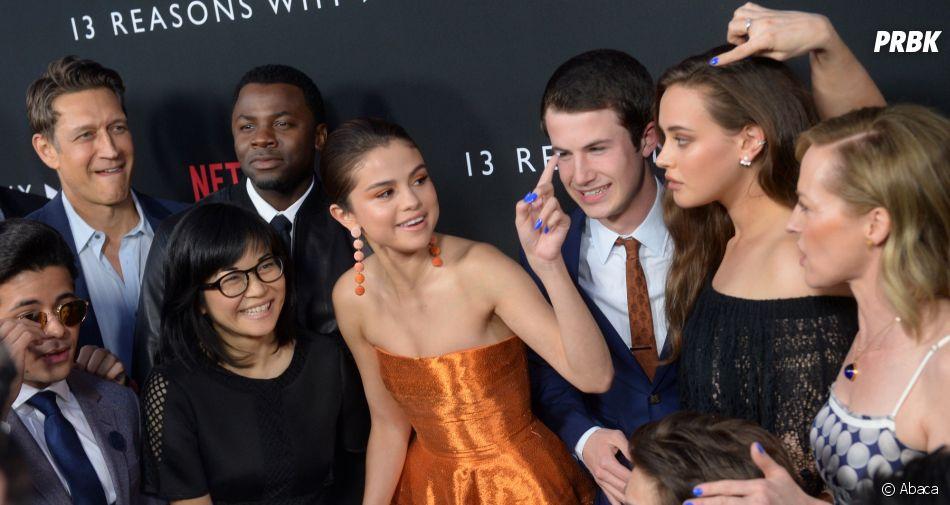 13 Reasons Why saison 2 : Selena Gomez entourée du cast à la soirée de lancement