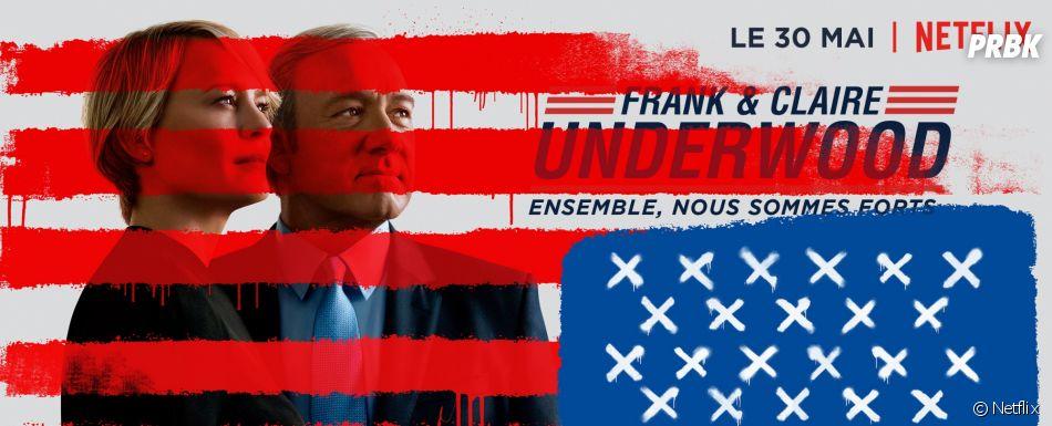 House of Cards saison 5 : les Underwood s'affichent