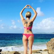 Gaëlle Petit sublime à la plage pour des vacances caliente 🔥