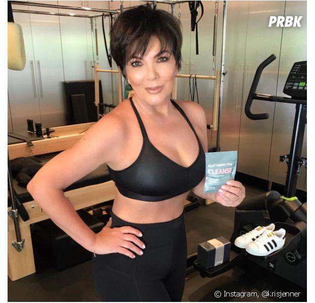 Kris Jenner photoshoppée sur Instagram : les internautes se moquent