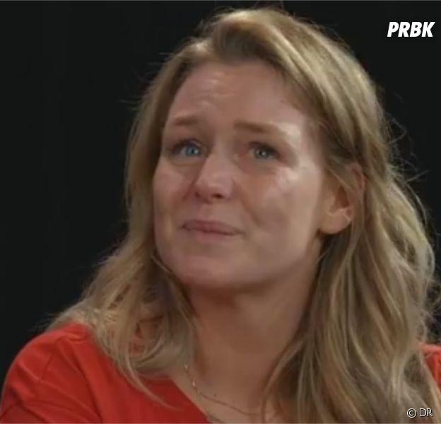 Aurélie Van Daelen fait une triste révélation lors d'un Facebook Live avec Purepeople