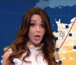 Nabilla Benattia en Miss météo drôle et déjantée sur TF1 : les internautes sont fans de sa présentation dans VTEP !