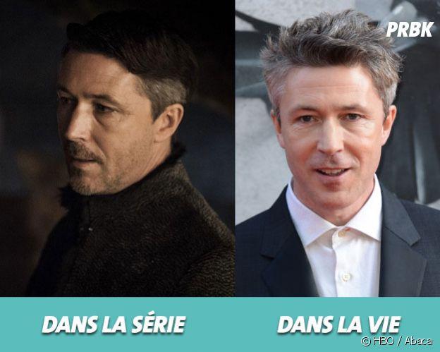 Game of Thrones : Aidan Gillen dans la série vs dans la vie