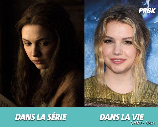 Game of Thrones : Hannah Murray dans la série vs dans la vie