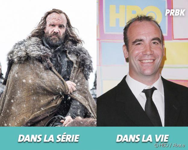 Game of Thrones : Rory McCann dans la série vs dans la vie