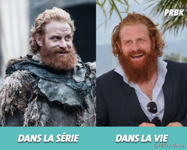 Game of Thrones :Kristofer Hivju dans la série vs dans la vie