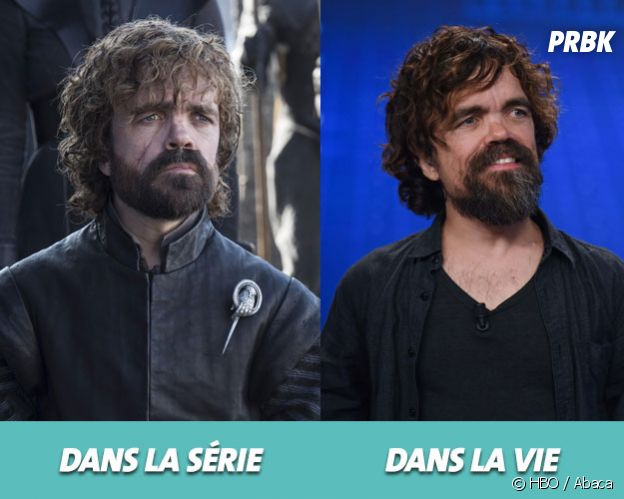 Game of Thrones : Peter Dinklage dans la série vs dans la vie