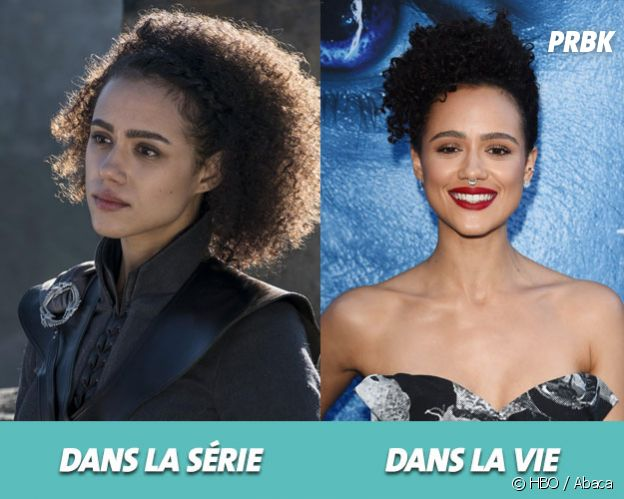 Game of Thrones : Nathalie Emmanuel dans la série vs dans la vie