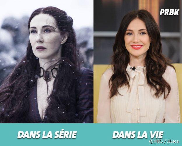 Game of Thrones : Carice Van Houten dans la série vs dans la vie