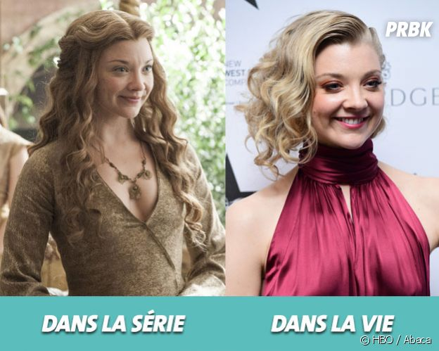 Game of Thrones : Natralie Dormer dans la série vs dans la vie