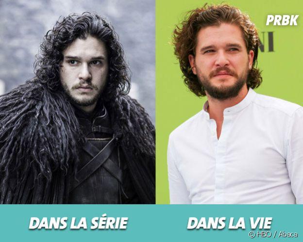 Game of Thrones : Kit Harington dans la série vs dans la vie
