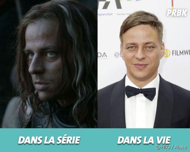 Game of Thrones : Tom Wlaschiha dans la série vs dans la vie