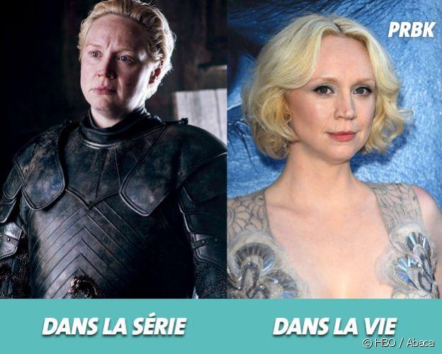 Game of Thrones : Gwendoline Christie dans la série vs dans la vie
