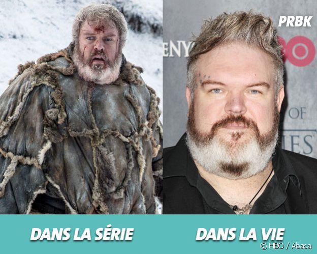 Game of Thrones :Kristian Nairn dans la série vs dans la vie