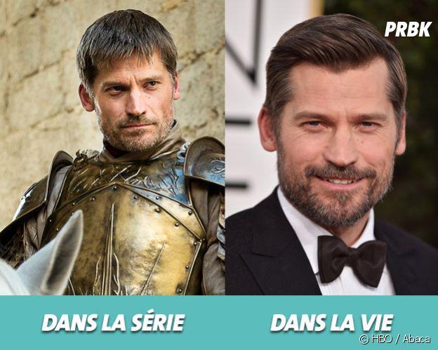 Game of Thrones : Nikolaj Coster-Waldau dans la série vs dans la vie