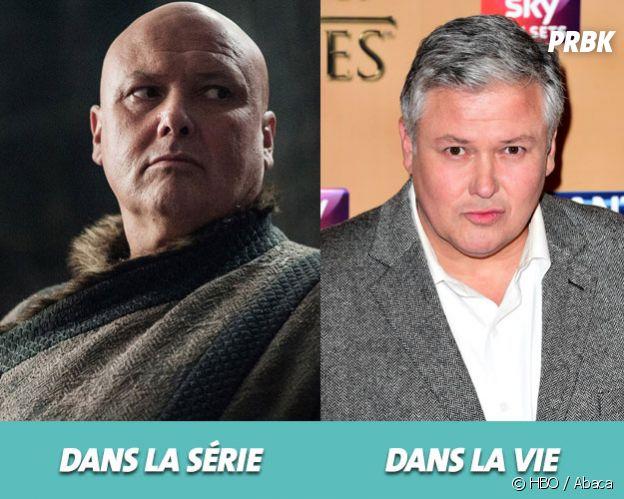 Game of Thrones : Conleth Hill dans la série vs dans la vie