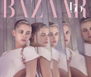 Kristen Stewart en couverture du magazine Harper's Bazaar