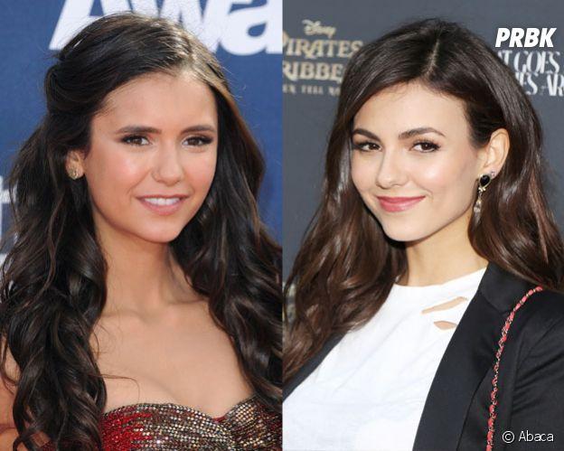 Ces stars qui ont des sosies célèbres : Nina Dobrev et Victoria Justice