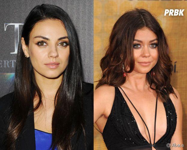 Ces stars qui ont des sosies célèbres : Mila Kunis et Sarah Hyland