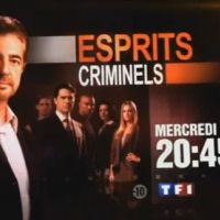 Esprits Criminels sur TF1 ce soir ... mercredi 12 mai 2010 ... bande annonce