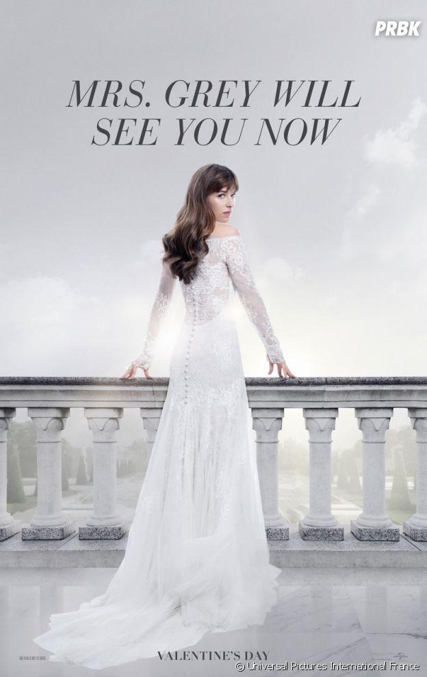 Fifty Shades Freed : l'affiche du film avec Dakota Johnson