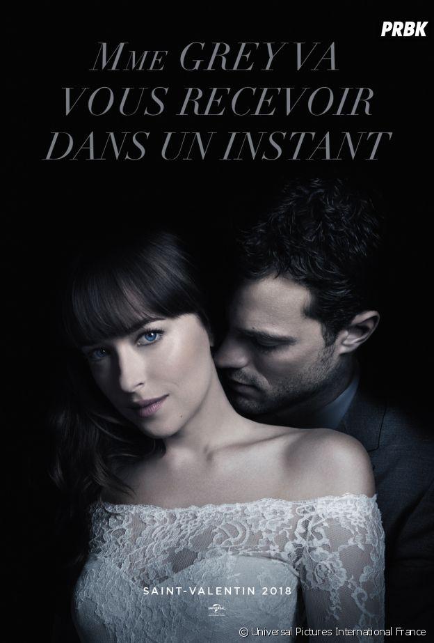 Fifty Shades Freed : l'affiche du film avec Jamie Dorna et Dakota Johnson