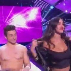 Leila Ben Khalifa : lap dance avec Darko et baiser avec Christophe Beaugrand dans le Debrief