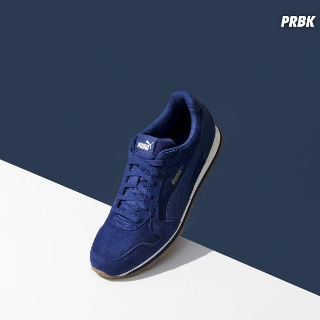 Puma x Jules : la basket ST Runner bleue