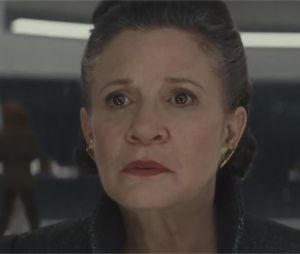 Star Wards 8 : Carrie Fisher en Leia dans la bande-annonce