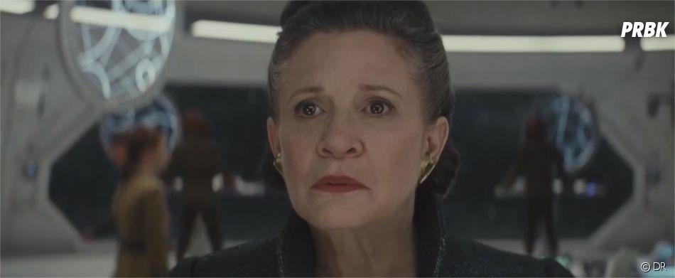 Star Wards 8 : Carrie Fisher en Leia dans la bande-annonce