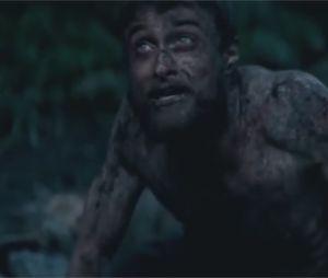 Daniel Radcliffe métamorphosé dans Jungle