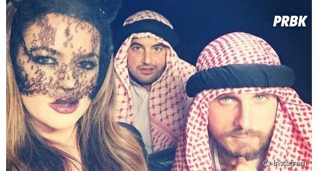 Scott Disick déguisé en cheikh Arabe pour Halloween !