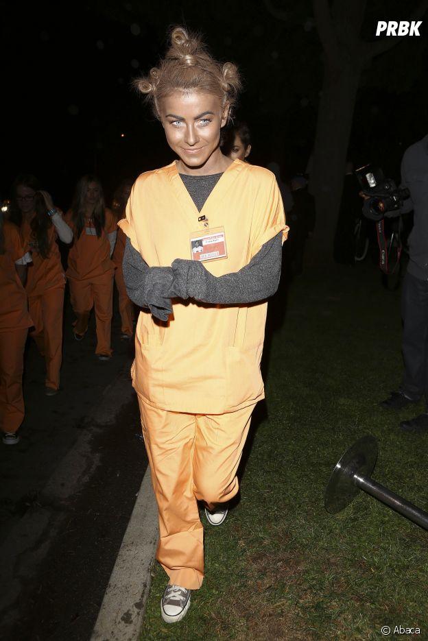 Julianne Hough déguisée en Crazy Eyes d'Orange is the New Black pour Halloween !