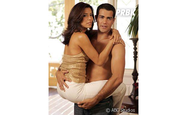 Jesse Metcalfe et Eva Longoria dans Desperate Housewives