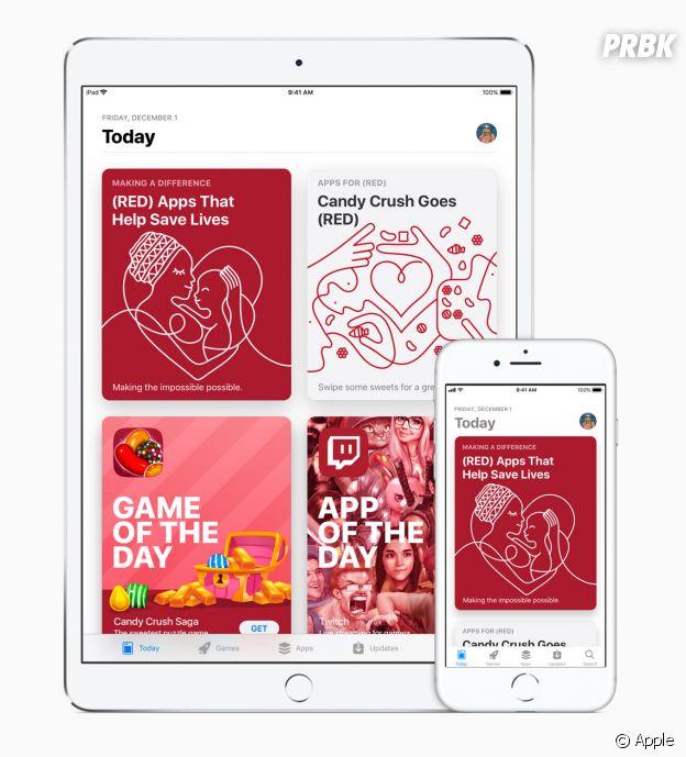Apple et (RED) : la bonne action pour lutter contre le SIDA