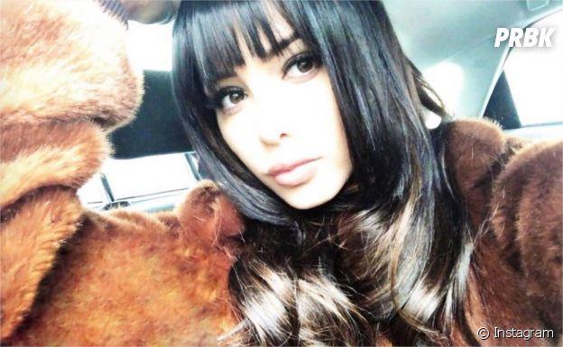 Nabilla Benattia dévoile sa frange sur Instagram