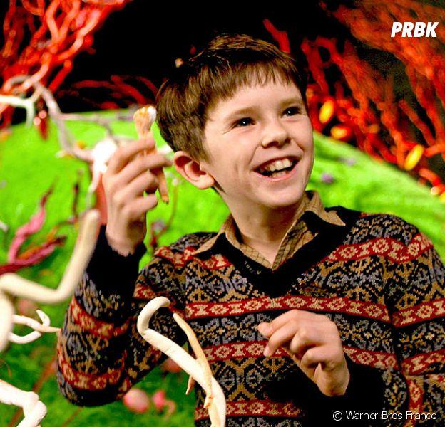 Freddie Highmore Le Petit Garçon De Charlie Et La Chocolaterie A