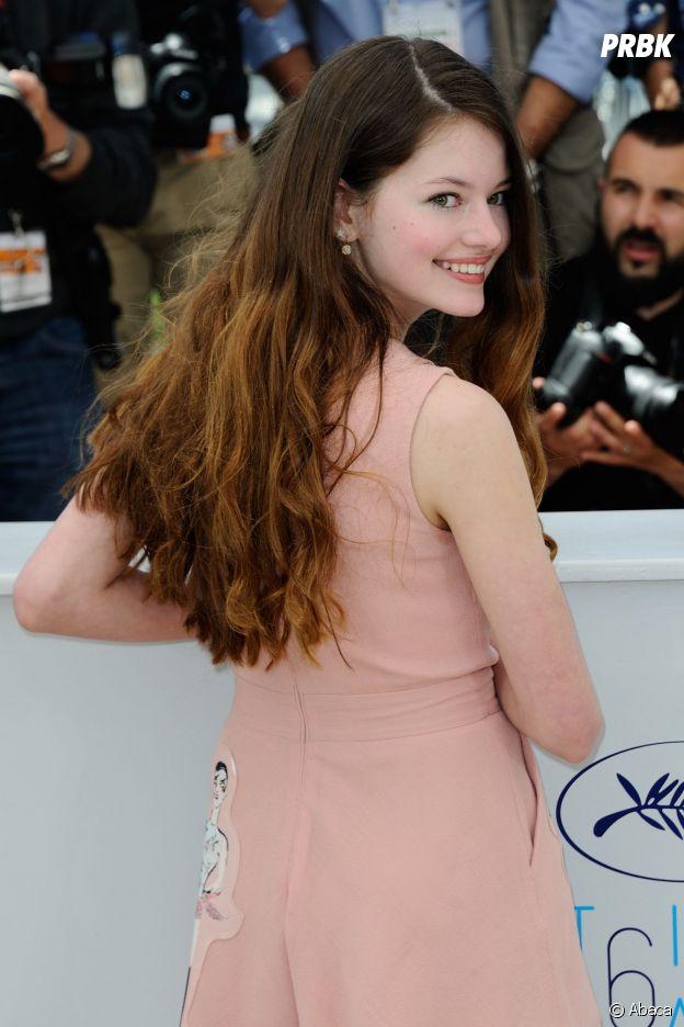 Mackenzie Foy au Festival de Cannes 2015